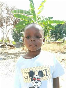 Choose a child to sponsor, like this little boy from Pheone, Delcio Almeida age 5