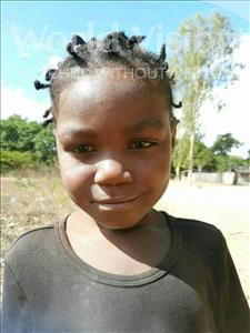 Choose a child to sponsor, like this little girl from Pheone, Belicia Joaquim age 6