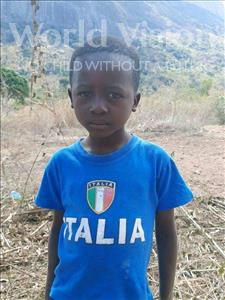 Choose a child to sponsor, like this little boy from Pheone, Adriano age 6