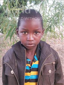 Choose a child to sponsor, like this little boy from Thundu, Amos age 6