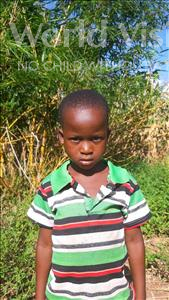 Choose a child to sponsor, like this little boy from Thundu, Bisweck age 6