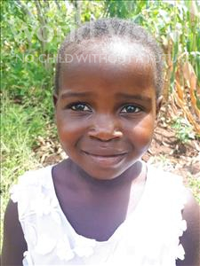 Choose a child to sponsor, like this little girl from Thundu, Trinity age 5