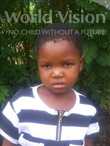 Choose a child to sponsor, like this little girl from Thundu, Enifa age 5
