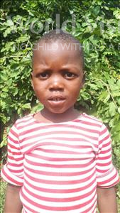 Choose a child to sponsor, like this little boy from Thundu, Madala age 4