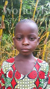 Choose a child to sponsor, like this little girl from Thundu, Rabecca age 6