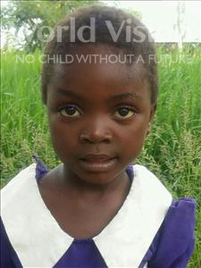 Choose a child to sponsor, like this little girl from Thundu, Ruth age 3