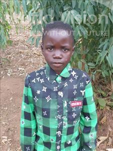 Choose a child to sponsor, like this little boy from Thundu, Chifundo age 8