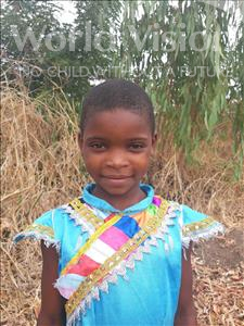 Choose a child to sponsor, like this little girl from Thundu, Shira age 8