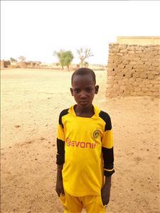 Choose a child to sponsor, like this little boy from Komabangou, Soufiane age 12