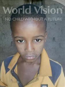 Choose a child to sponsor, like this little boy from Komabangou, Mohamadou age 8