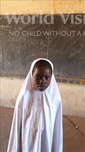 Choose a child to sponsor, like this little girl from Komabangou, Safaraou age 8