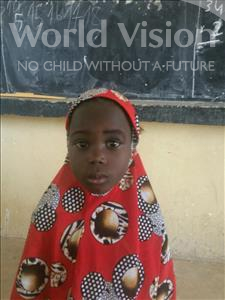 Choose a child to sponsor, like this little girl from Komabangou, Inayetou age 7