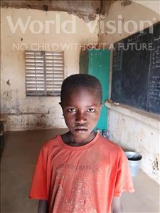 Choose a child to sponsor, like this little boy from Komabangou, Massaoudou age 9