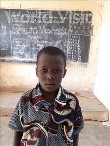 Choose a child to sponsor, like this little boy from Komabangou, Kadri age 7