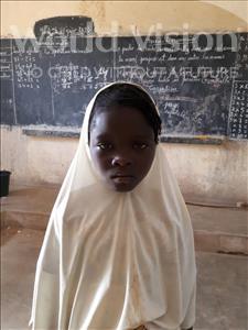 Choose a child to sponsor, like this little girl from Komabangou, Samsiya age 7