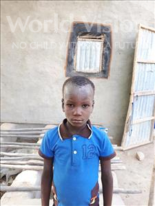 Choose a child to sponsor, like this little boy from Komabangou, Soumailou age 7