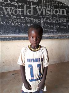 Choose a child to sponsor, like this little boy from Komabangou, Hamadou age 7