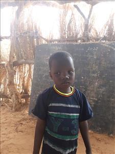 Choose a child to sponsor, like this little boy from Komabangou, Hafissou age 6