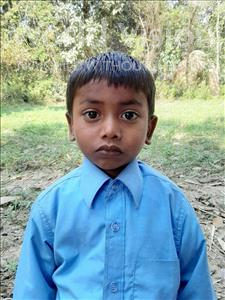 Choose a child to sponsor, like this little boy from Sarlahi, Aayush Kumar age 4