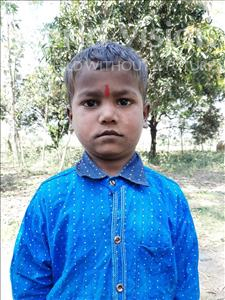 Choose a child to sponsor, like this little boy from Sarlahi, Bhagnarayan age 4