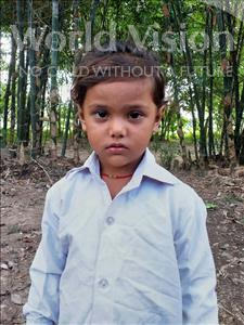 Choose a child to sponsor, like this little girl from Sarlahi, Rinki age 3