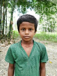 Choose a child to sponsor, like this little boy from Sarlahi, Aakash Kumar age 9