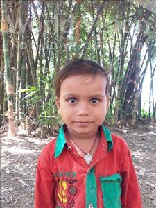 Choose a child to sponsor, like this little boy from Sarlahi, Hrtitk Kumar age 3