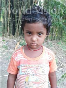 Choose a child to sponsor, like this little girl from Sarlahi, Radhika Kumari age 3