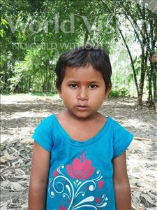 Choose a child to sponsor, like this little girl from Sarlahi, Aarati Kumari age 3