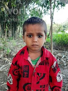 Choose a child to sponsor, like this little boy from Sarlahi, Jibreel age 3