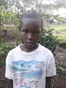 Choose a child to sponsor, like this little boy from Tegloma, Soloman age 11