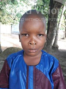 Choose a child to sponsor, like this little boy from Jaiama Bongor, Mohamed Baielo age 4