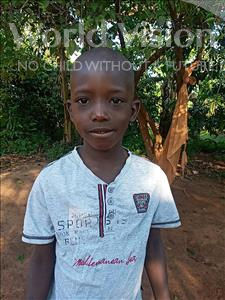Choose a child to sponsor, like this little boy from Kibiga-Mulagi, Martin age 7