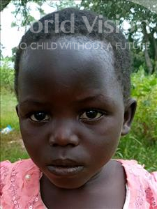 Choose a child to sponsor, like this little girl from Busitema, Tabisa age 8