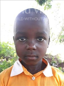 Choose a child to sponsor, like this little boy from Busitema, Wilber age 7