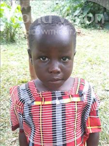 Sarah, aged 6, from Uganda, is hoping for a World Vision sponsor
