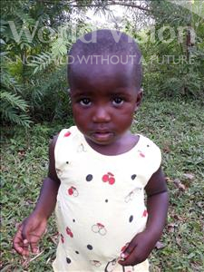 Choose a child to sponsor, like this little girl from Busitema, Ann Flavour age 3