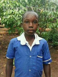 Alick, aged 9, from Uganda, is hoping for a World Vision sponsor