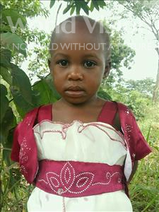 Choose a child to sponsor, like this little girl from Ntwetwe, Angel age 3