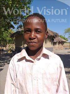 Choose a child to sponsor, like this little boy from Keembe, Nchengetai age 11