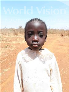 Choose a child to sponsor, like this little girl from Keembe, Habachela age 3