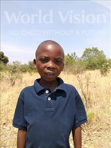 Choose a child to sponsor, like this little boy from Keembe, Emmanuel age 7