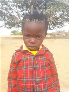 Choose a child to sponsor, like this little boy from Keembe, Whelington age 3