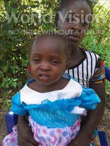 Choose a child to sponsor, like this little girl from Suwila, Suwilanji age 3