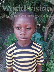 Choose a child to sponsor, like this little girl from Suwila, Shiveni age 5