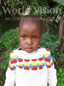 Choose a child to sponsor, like this little boy from Suwila, Eliphas age 3