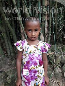 Choose a child to sponsor, like this little girl from Ghoraghat, Monika Mostari age 8