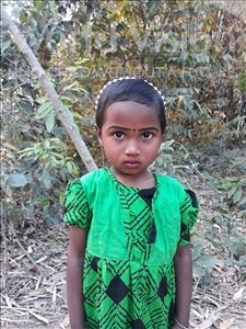 Choose a child to sponsor, like this little girl from Ghoraghat, Priyonty age 5