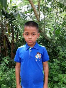 Choose a child to sponsor, like this little boy from Maya, Adilson Bladimir age 9