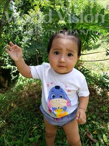 Choose a child to sponsor, like this little girl from Maya, Scarleth Sofia age 1